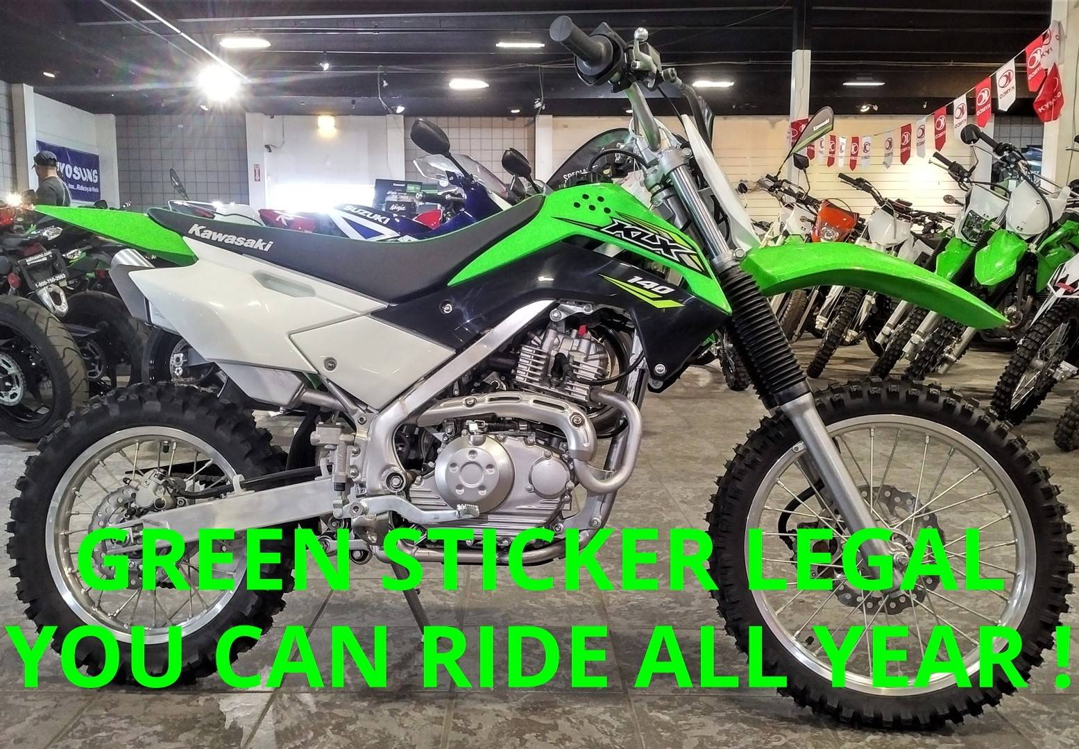 2018 Kawasaki KLX 140 in Salinas, California - Photo 1