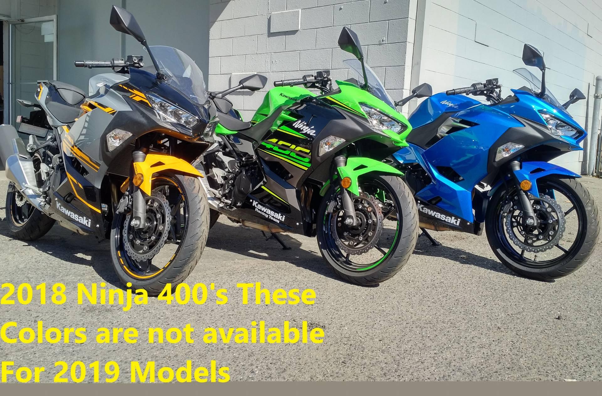 2018 Kawasaki Ninja 400 for sale 2490