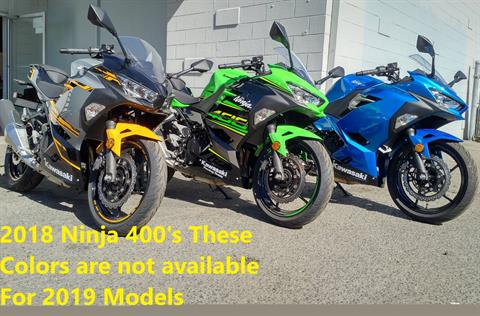 2018 Kawasaki Ninja 400 in Salinas, California