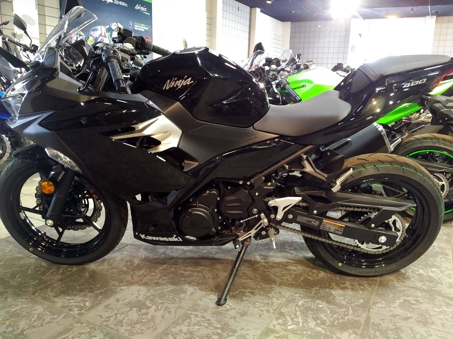 2018 Kawasaki Ninja 400 ABS in Salinas, California