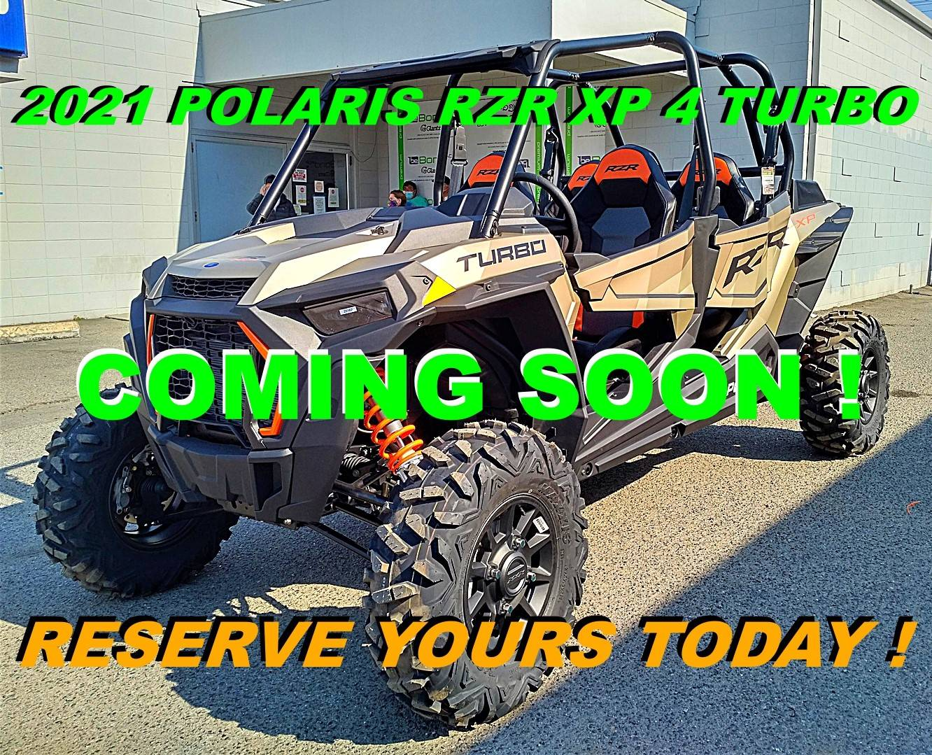 2021 Polaris RZR XP 4 Turbo in Salinas, California - Photo 1