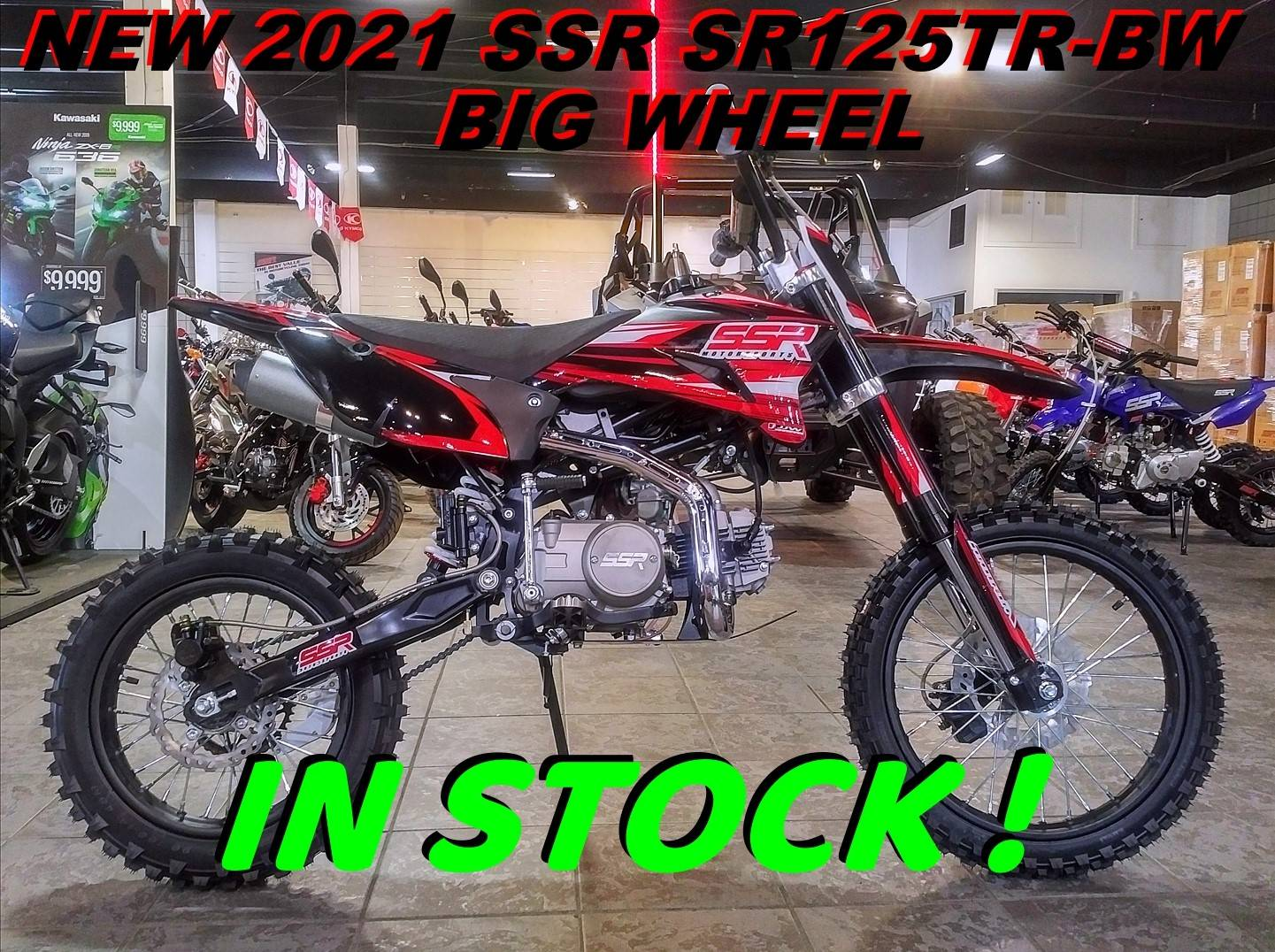2021 SSR Motorsports SR125TR-BW in Salinas, California - Photo 1