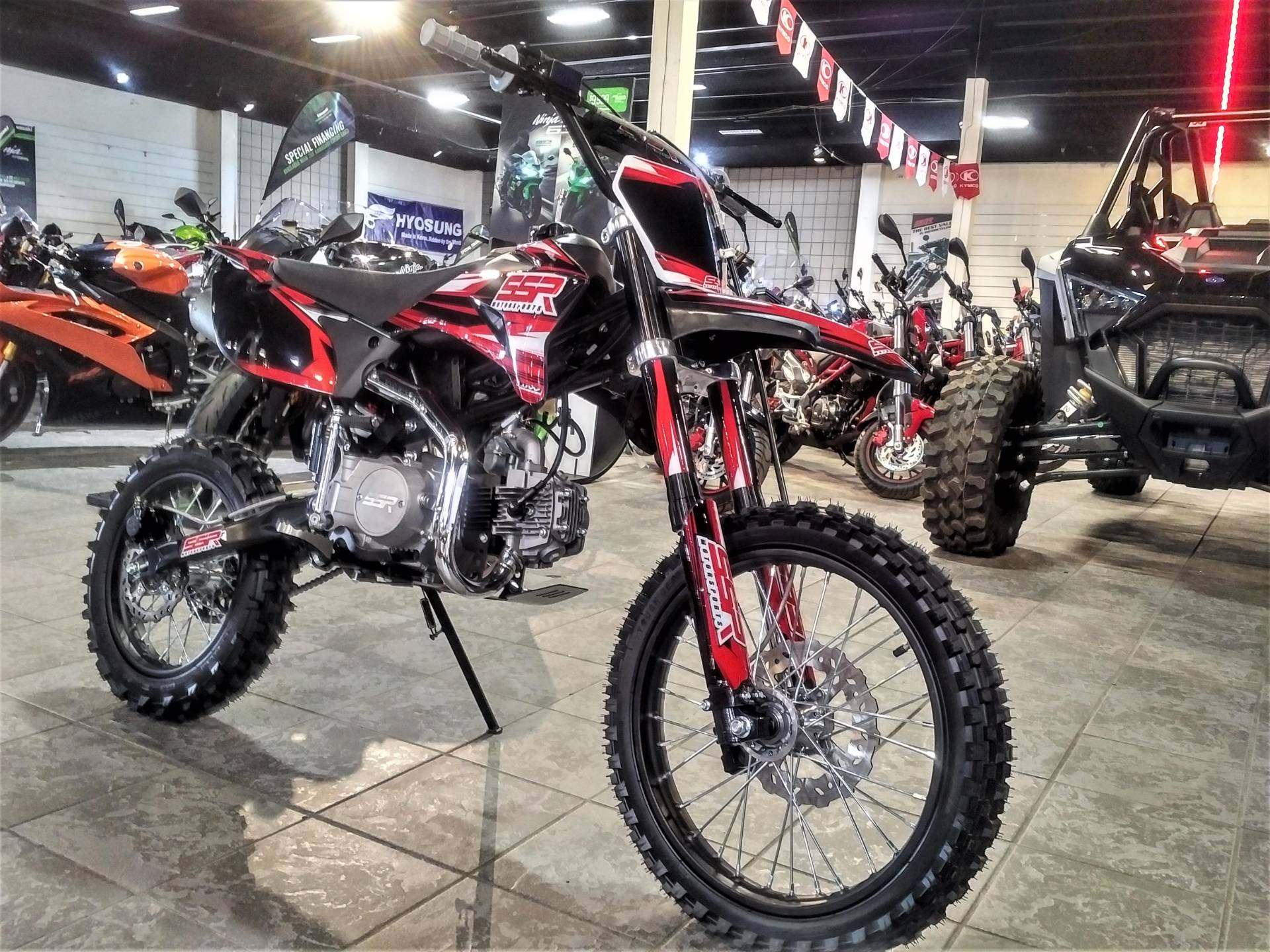 2021 SSR Motorsports SR125TR-BW in Salinas, California - Photo 4