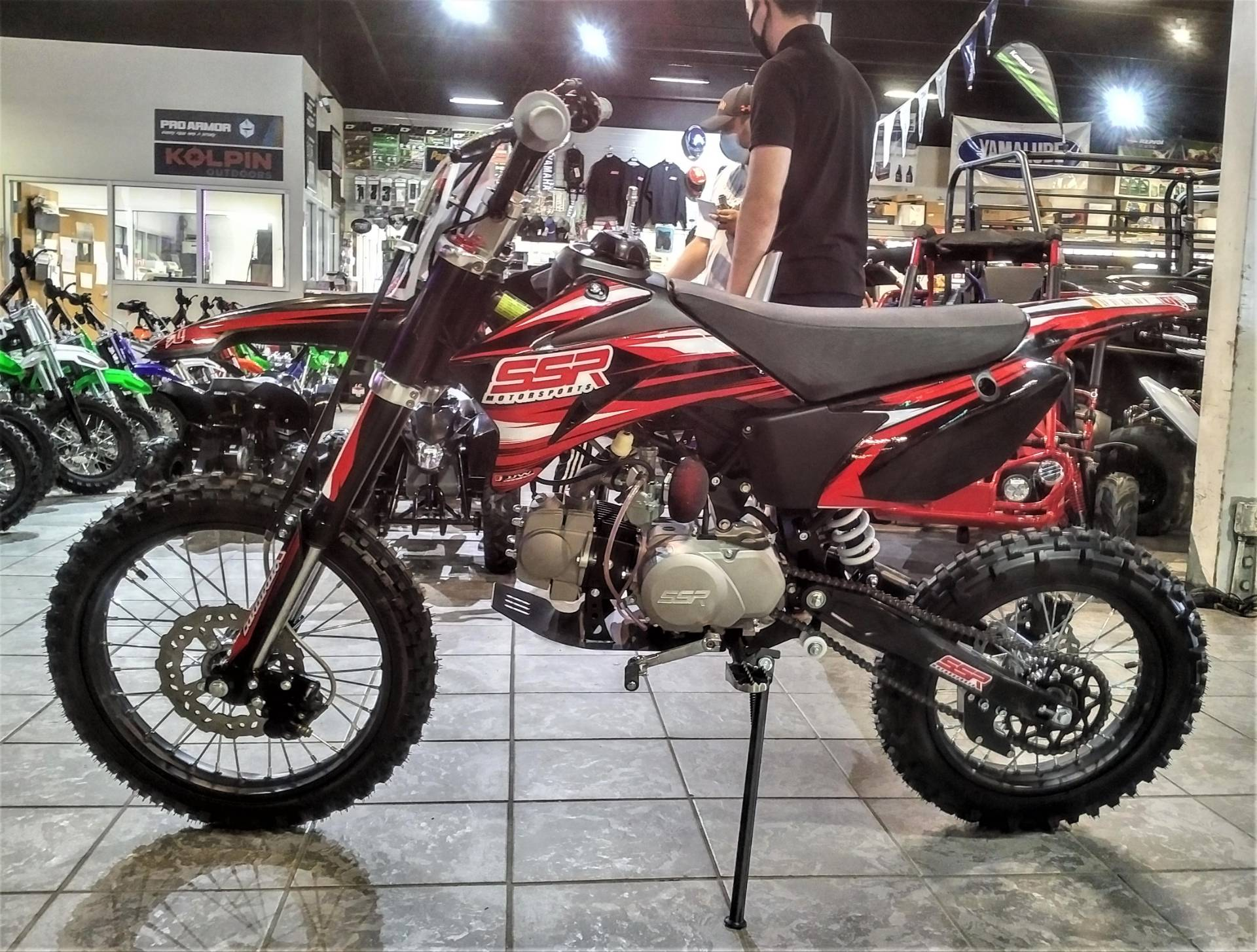 2021 SSR Motorsports SR125TR-BW in Salinas, California - Photo 3