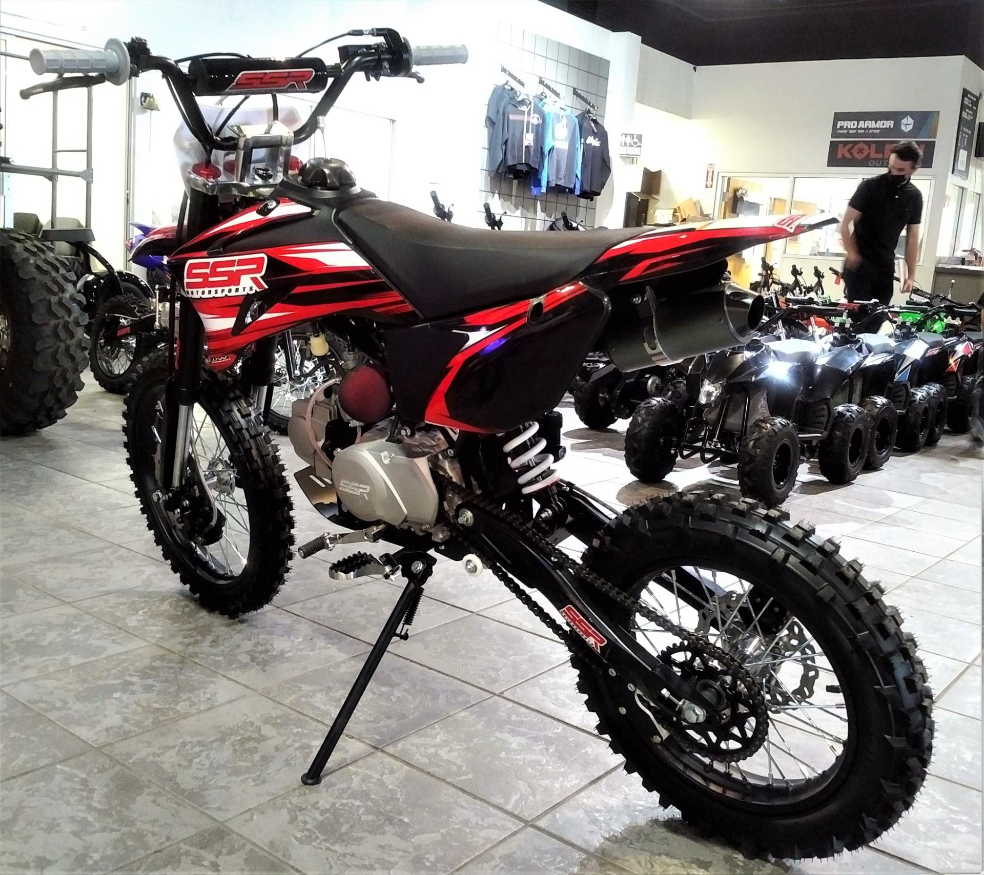 2021 SSR Motorsports SR125TR-BW in Salinas, California - Photo 6