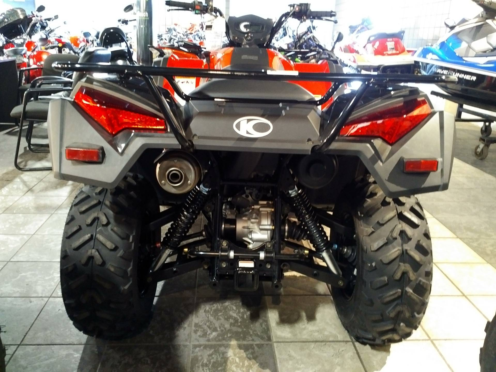 2018 Kymco MXU 700i in Salinas, California
