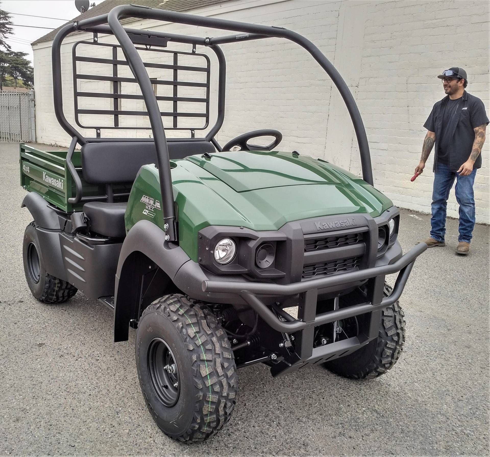 2021 Kawasaki Mule SX 4x4 FI in Salinas, California - Photo 7