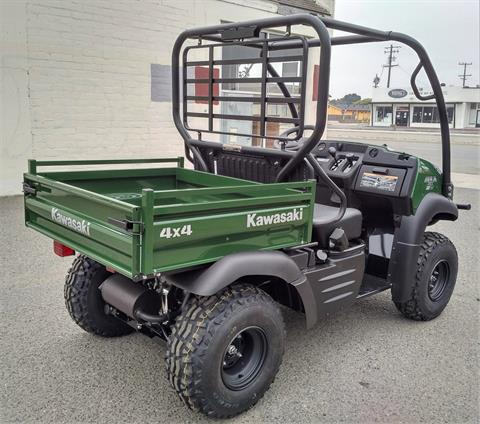 2021 Kawasaki Mule SX 4x4 FI in Salinas, California - Photo 9