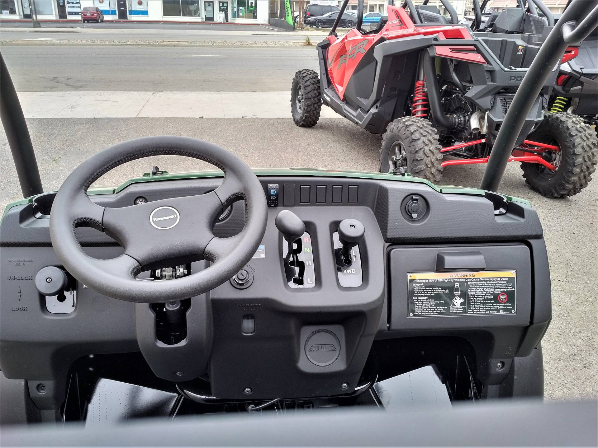 2021 Kawasaki Mule SX 4x4 FI in Salinas, California - Photo 12