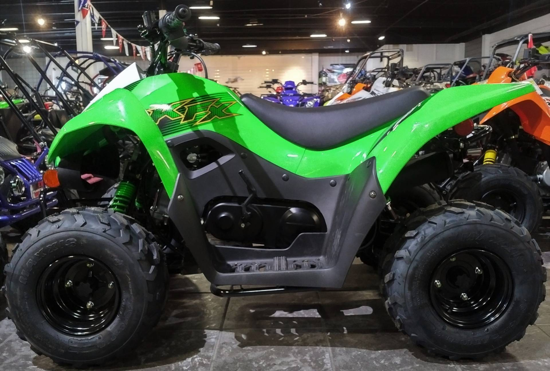 2020 Kawasaki KFX 50 in Salinas, California - Photo 3
