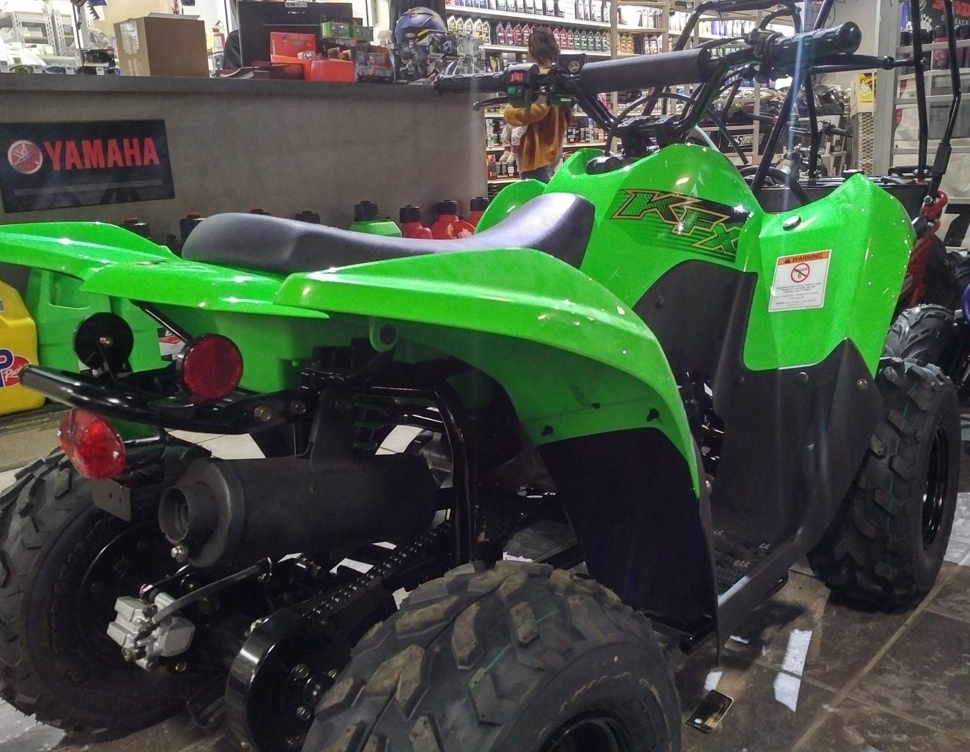 2020 Kawasaki KFX 50 in Salinas, California - Photo 9