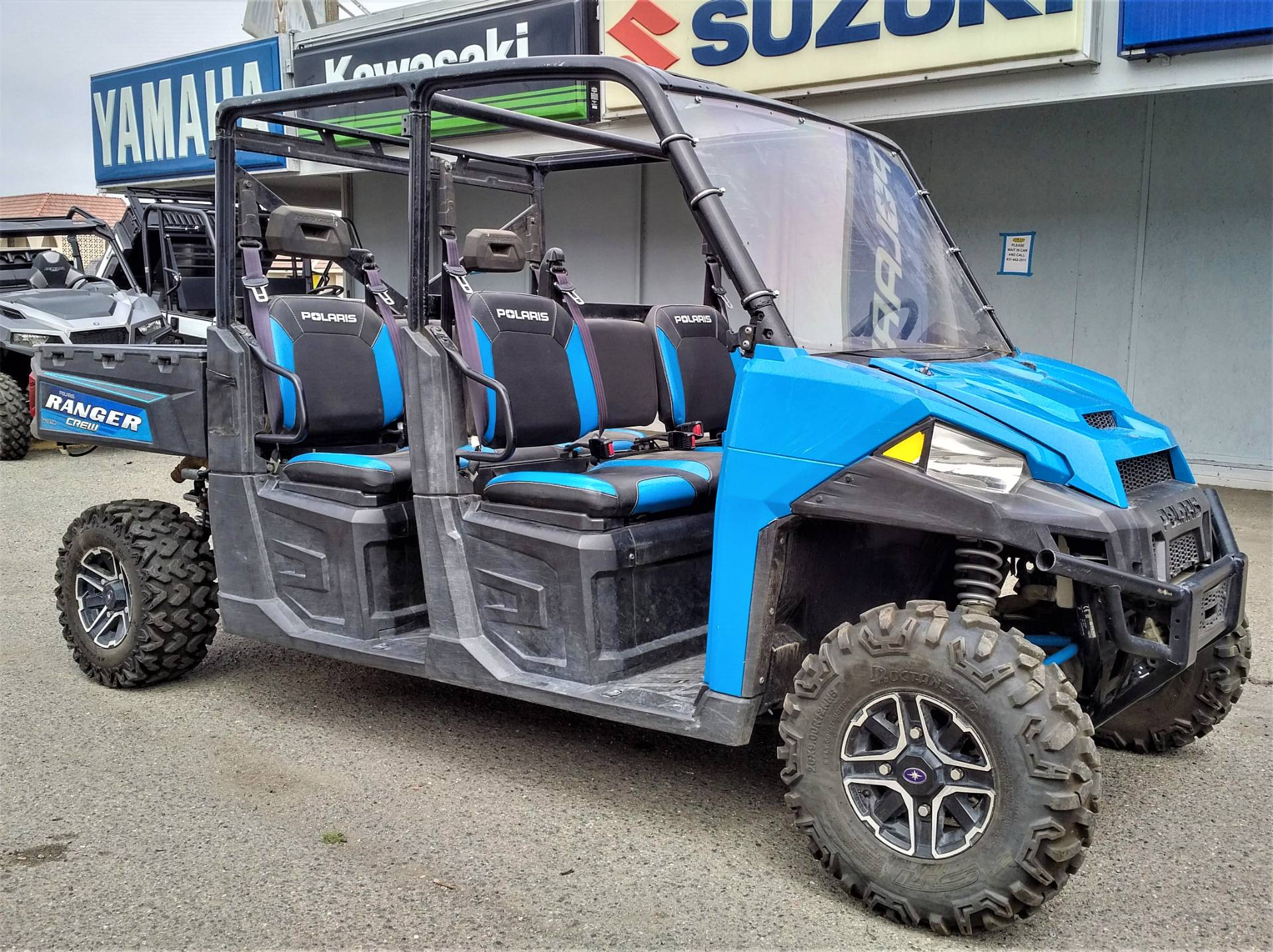 2016 Polaris Ranger Crew XP 900-6 EPS in Salinas, California - Photo 4