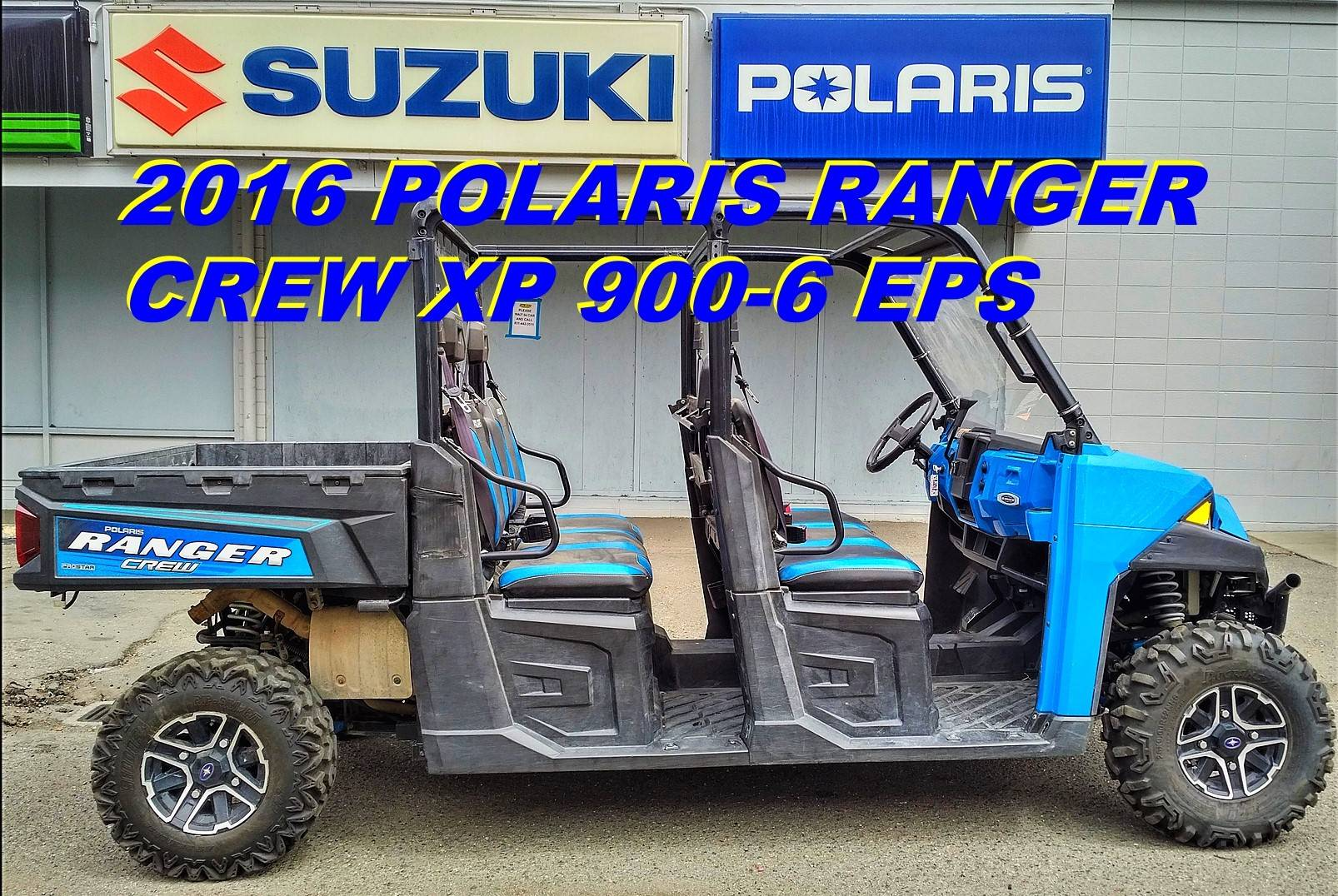 2016 Polaris Ranger Crew XP 900-6 EPS in Salinas, California - Photo 1