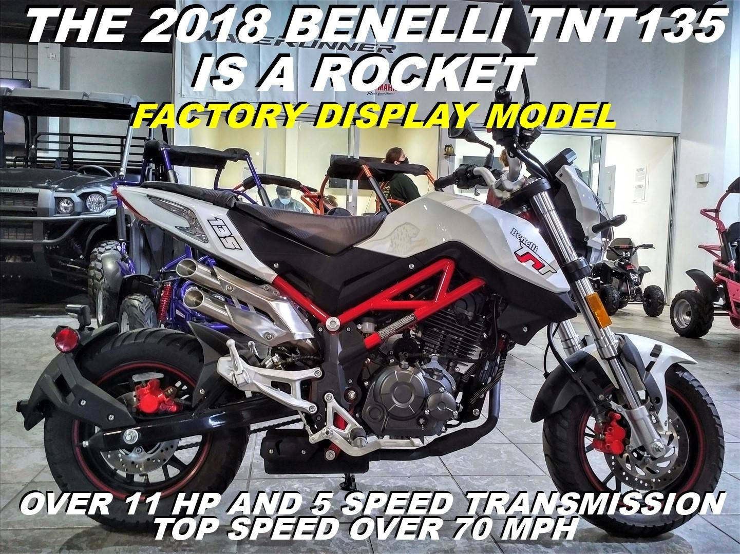 2018 Benelli TNT135 in Salinas, California - Photo 1