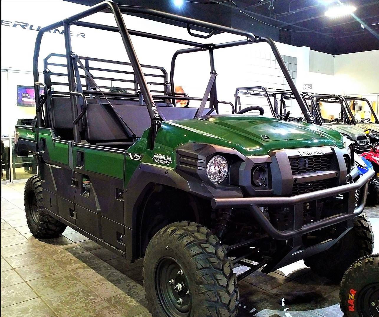2021 Kawasaki Mule PRO-DXT EPS Diesel in Salinas, California - Photo 4