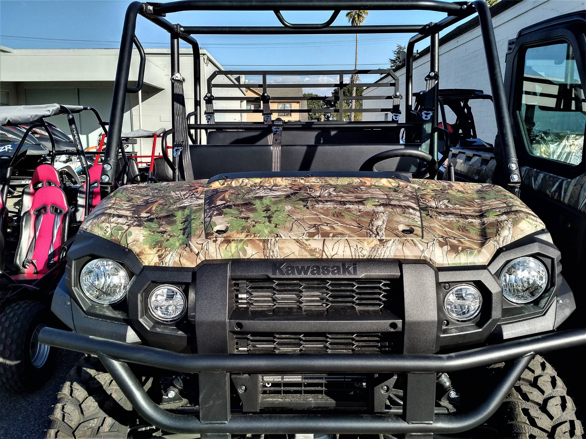 2019 Kawasaki Mule PRO-FXT EPS Camo in Salinas, California - Photo 4