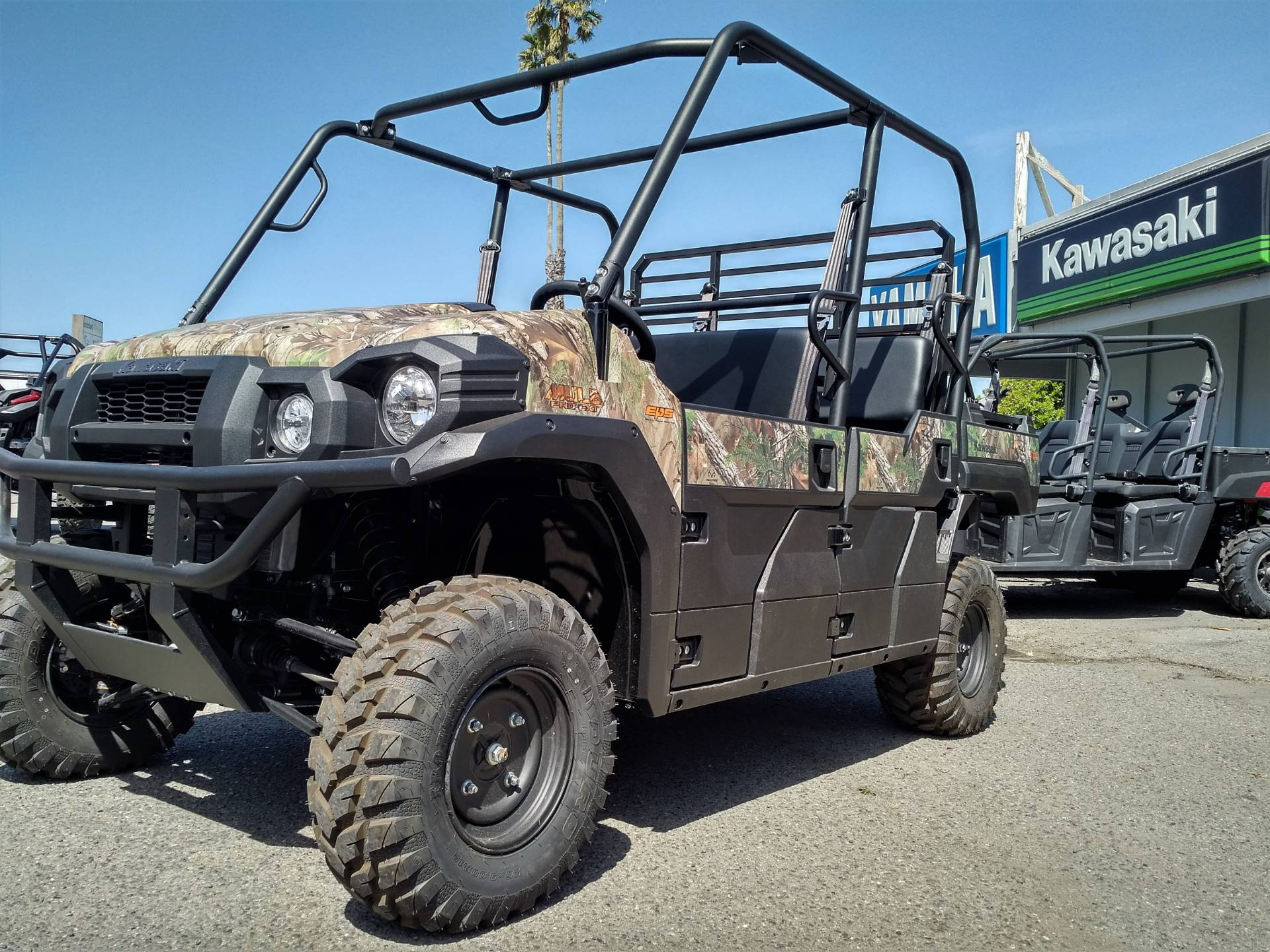2019 Kawasaki Mule PRO-FXT EPS Camo in Salinas, California - Photo 6