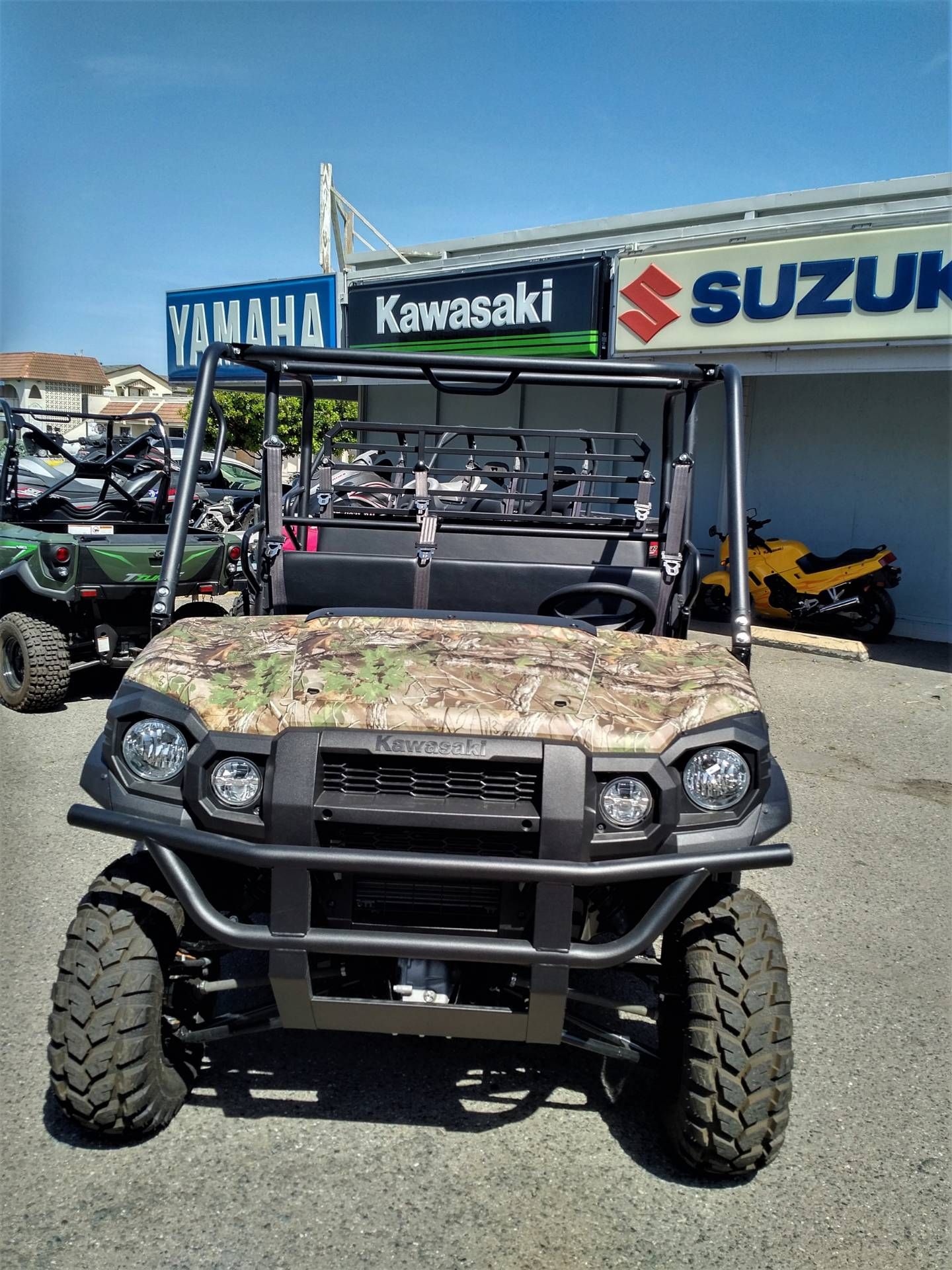 2019 Kawasaki Mule PRO-FXT EPS Camo in Salinas, California - Photo 8