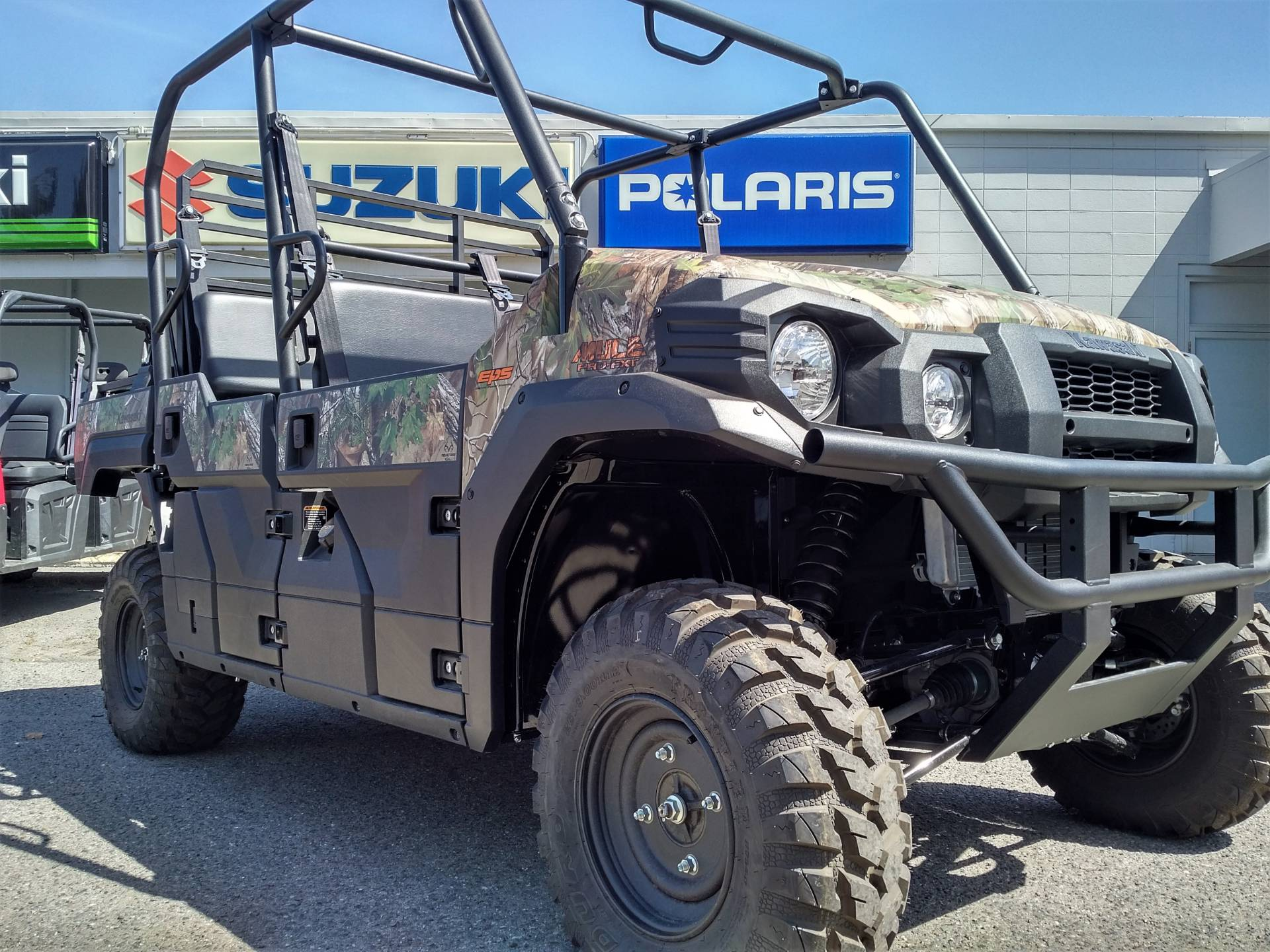 2019 Kawasaki Mule PRO-FXT EPS Camo in Salinas, California - Photo 9