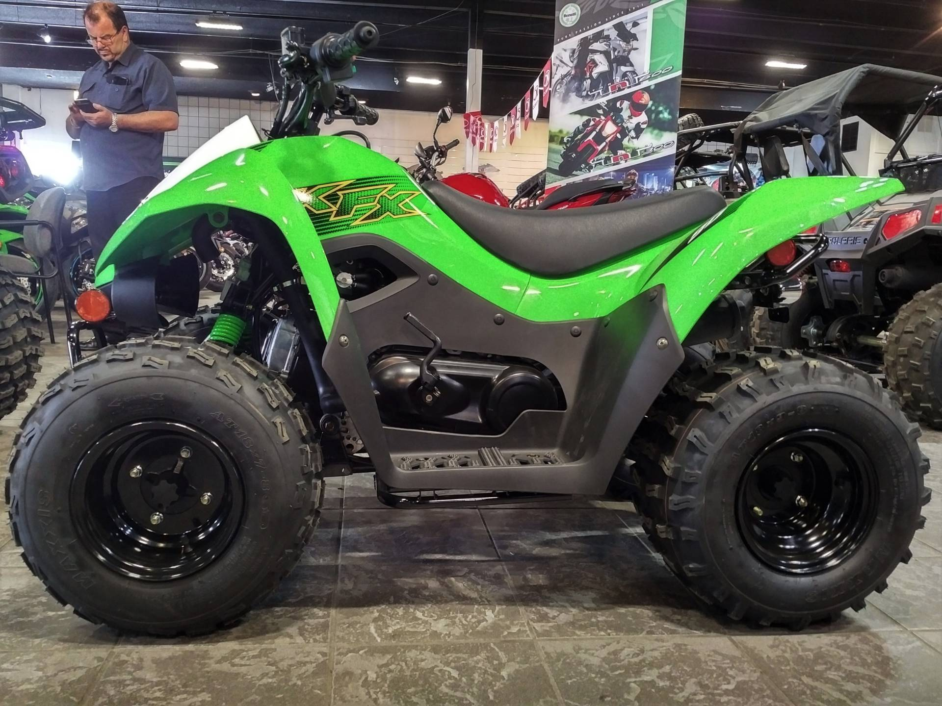 2020 Kawasaki KFX 90 in Salinas, California - Photo 3
