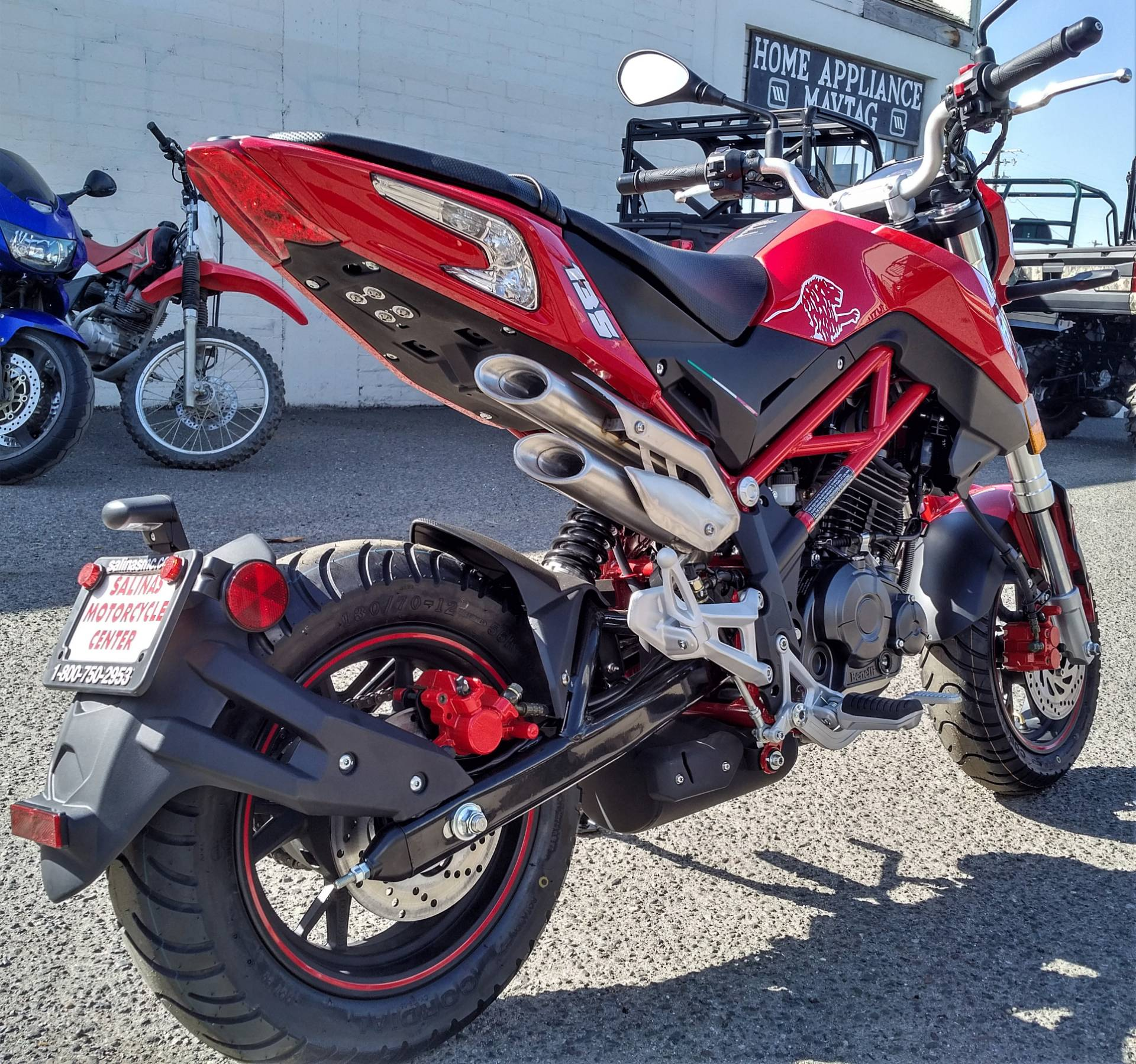 2020 Benelli TNT135 in Salinas, California - Photo 7