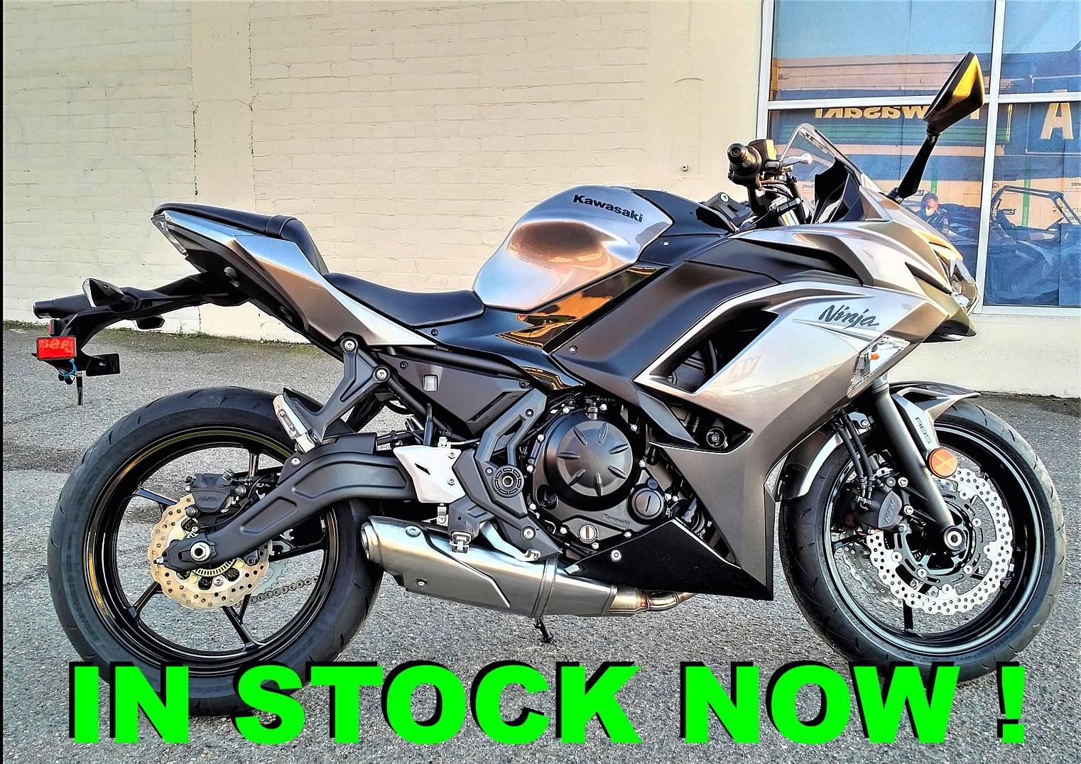 2021 Kawasaki Ninja 650 in Salinas, California - Photo 1