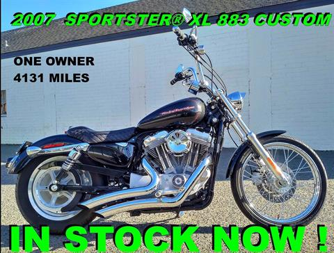 2007 Harley-Davidson XL 883C Sportster® in Salinas, California - Photo 1