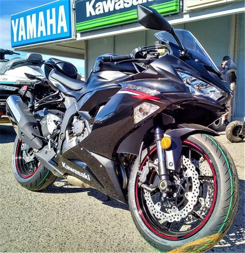 2020 Kawasaki Ninja ZX-6R in Salinas, California - Photo 4