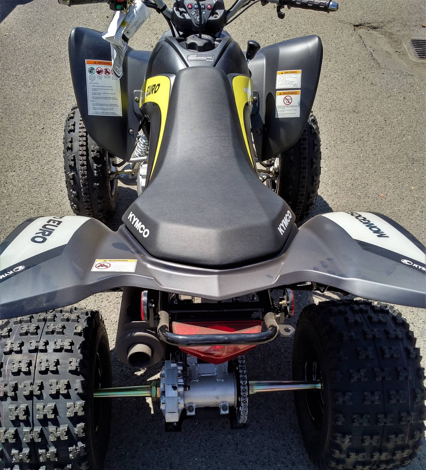 2019 Kymco Mongoose 270 EURO in Salinas, California - Photo 8