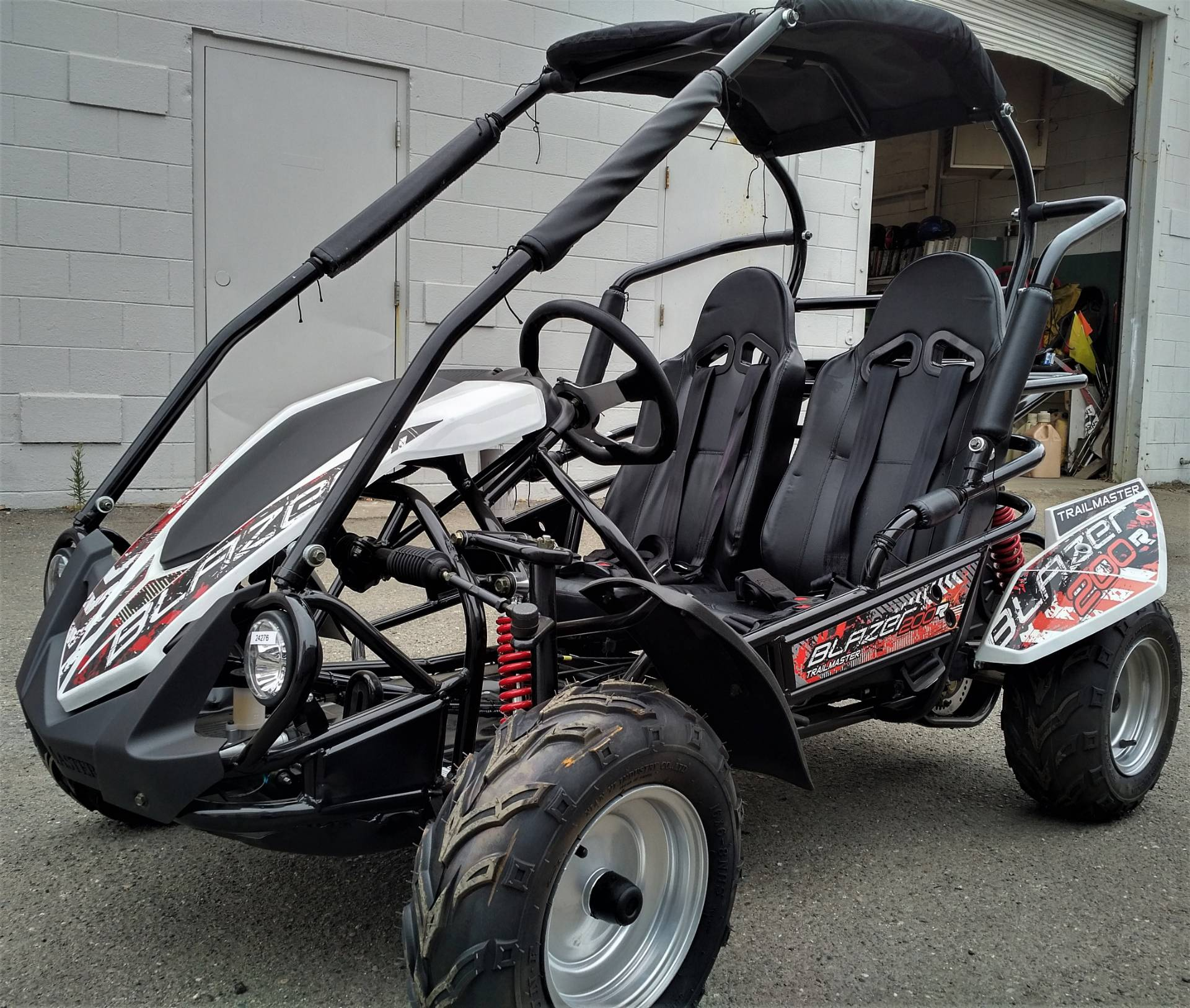 2018 TRAILMASTER BLAZER 200R in Salinas, California - Photo 4