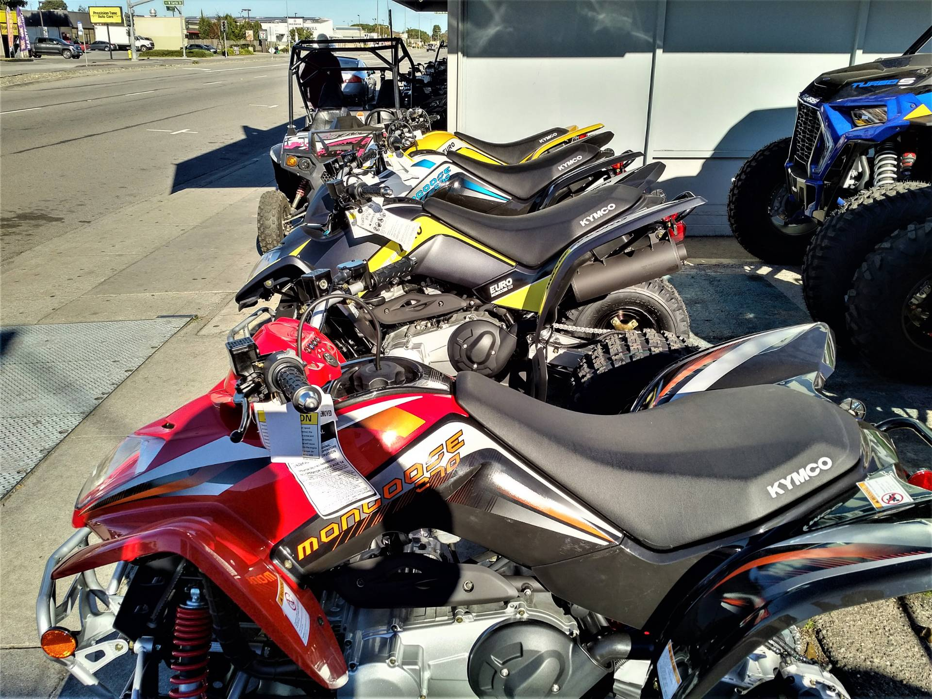 2019 Kymco Mongoose 270 in Salinas, California