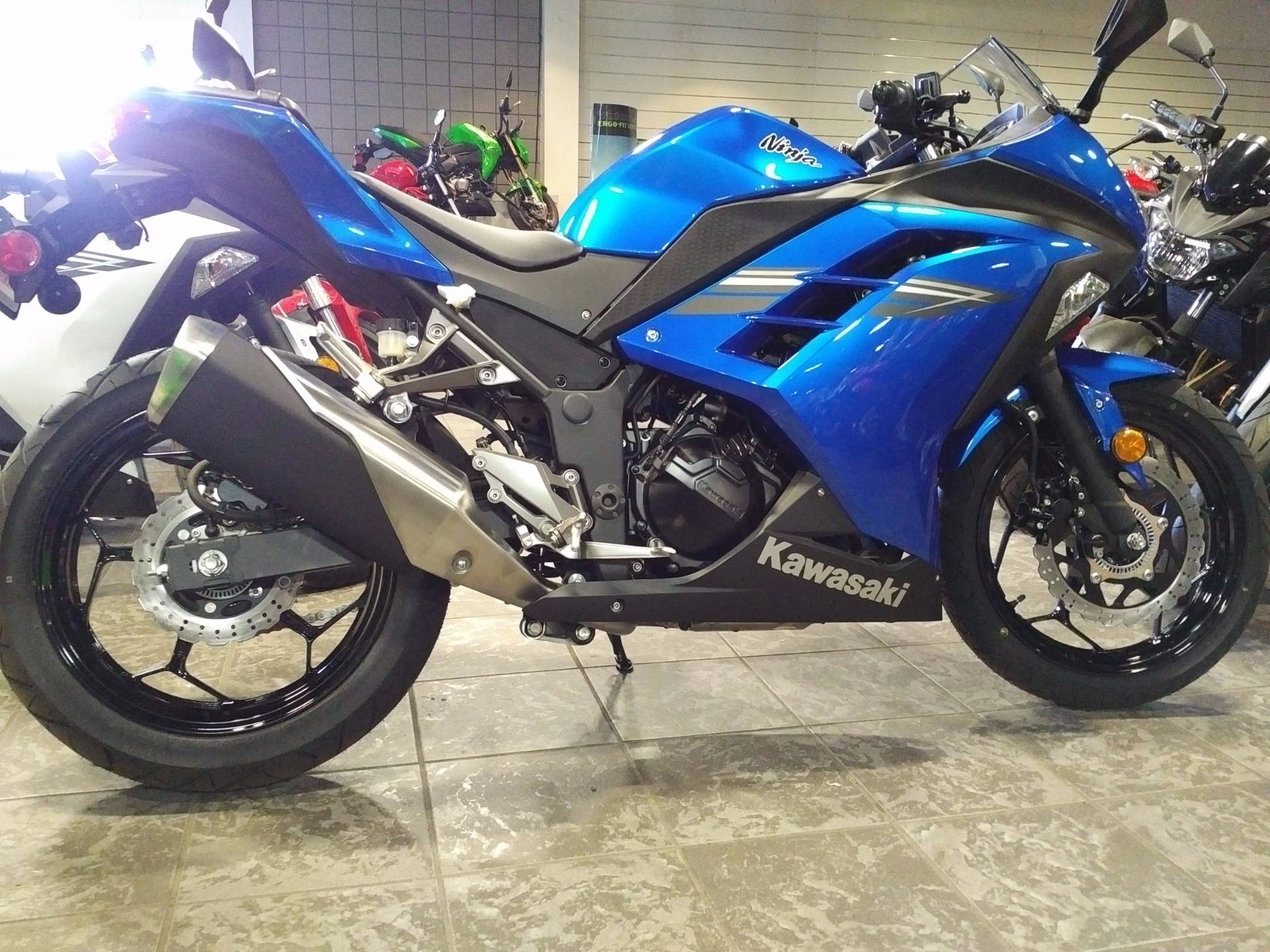 2017 Kawasaki Ninja 300 ABS in Salinas, California