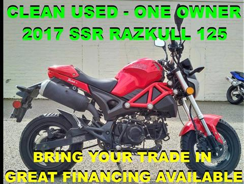 2017 SSR Motorsports Razkull 125 in Salinas, California - Photo 1