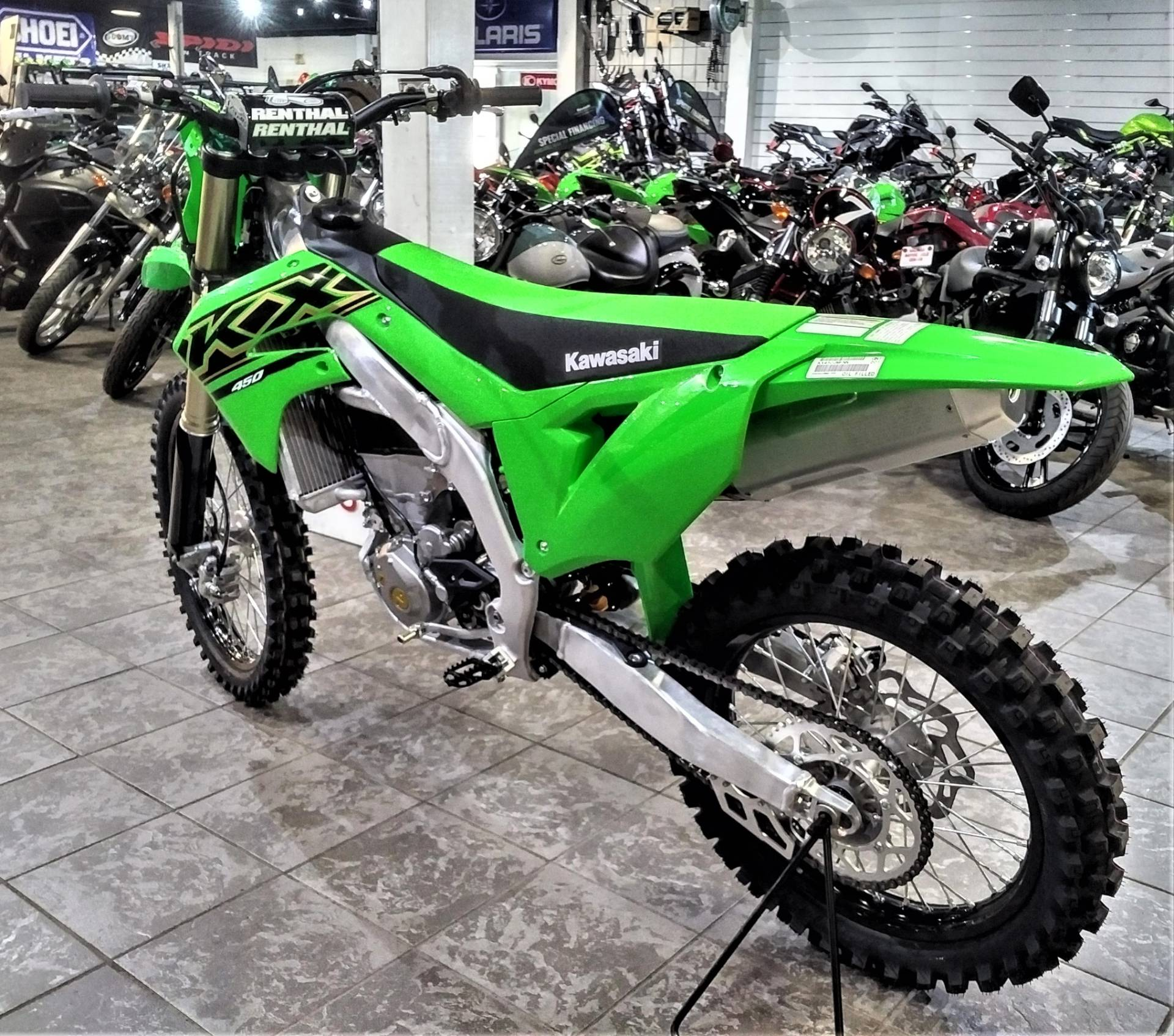 2021 Kawasaki KX 450 in Salinas, California - Photo 7