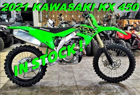 2021 Kawasaki KX 450 in Salinas, California - Photo 1