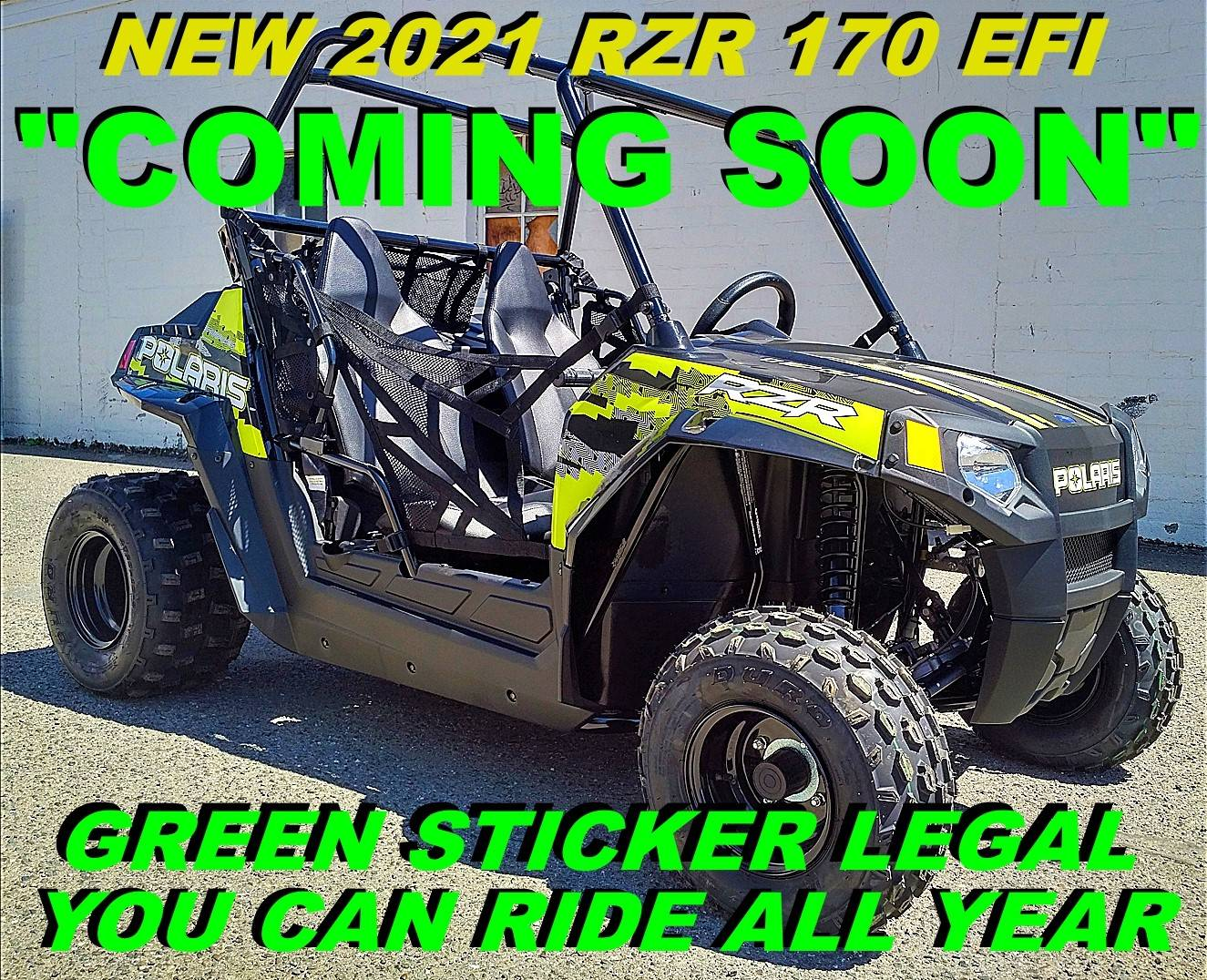 2021 Polaris RZR 170 EFI in Salinas, California - Photo 1