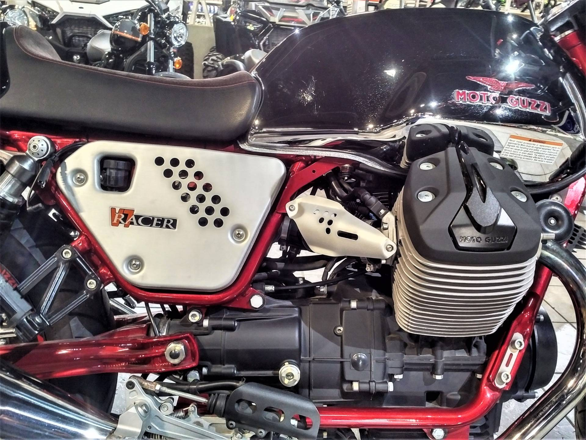 2014 Moto Guzzi V7 Racer in Salinas, California - Photo 14