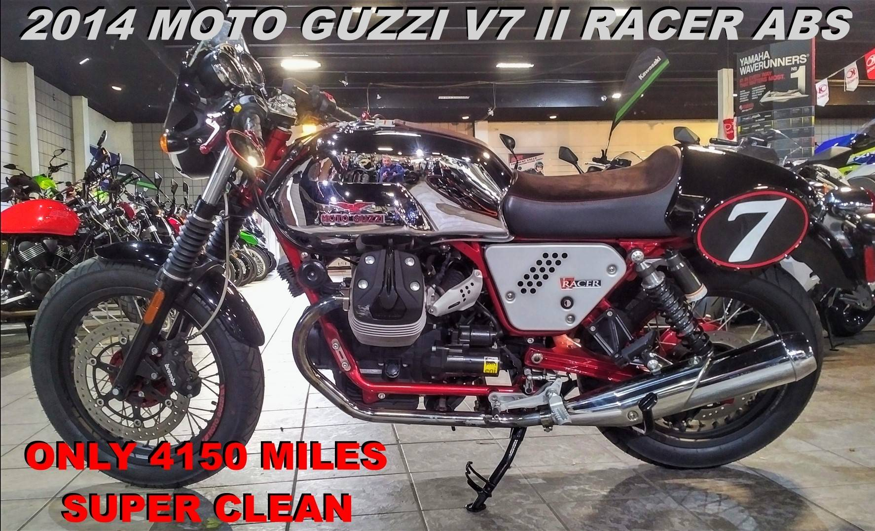 2014 Moto Guzzi V7 Racer in Salinas, California - Photo 1