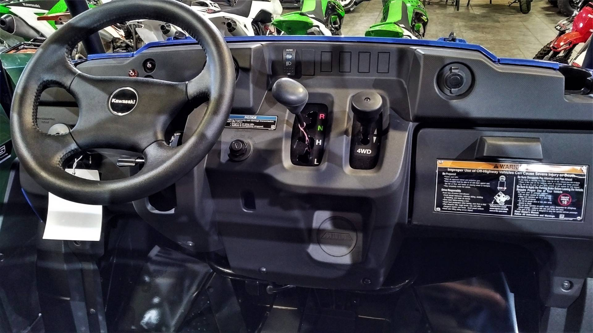 2019 Kawasaki Mule SX 4X4 XC FI in Salinas, California - Photo 17