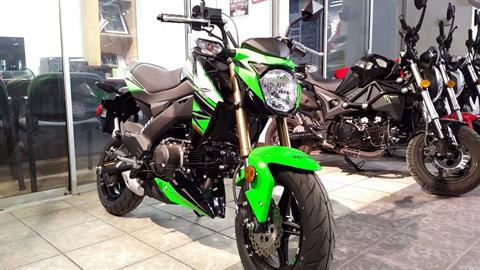 2018 Kawasaki Z125 Pro KRT Edition in Salinas, California