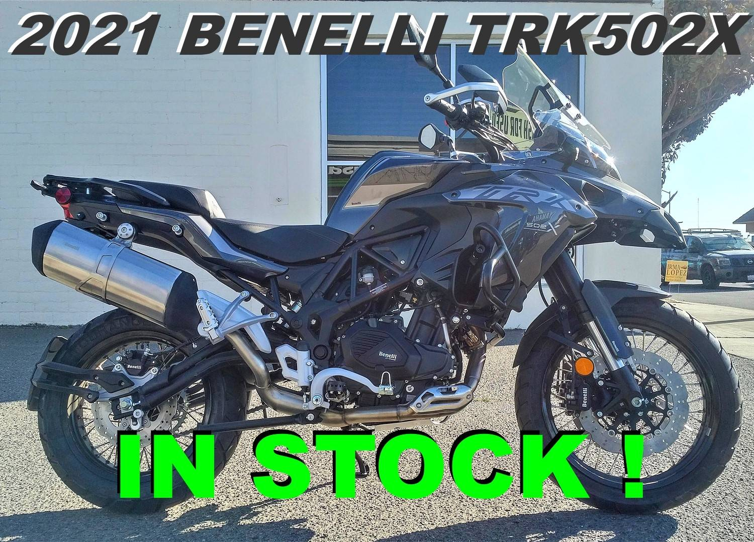 2021 Benelli TRK502X in Salinas, California - Photo 1