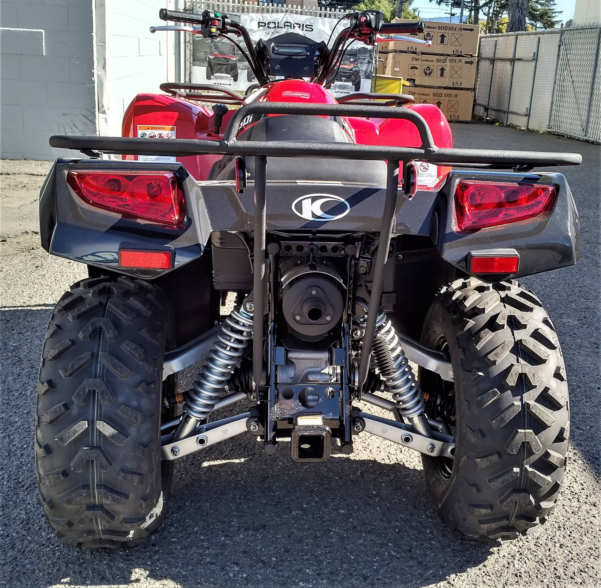 2020 Kymco MXU 450i in Salinas, California - Photo 8