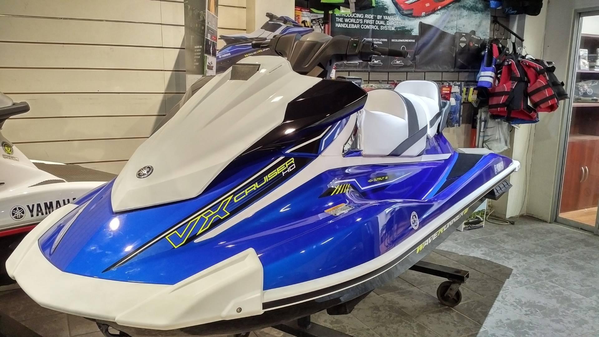 2018 Yamaha VX Cruiser HO for sale 106209