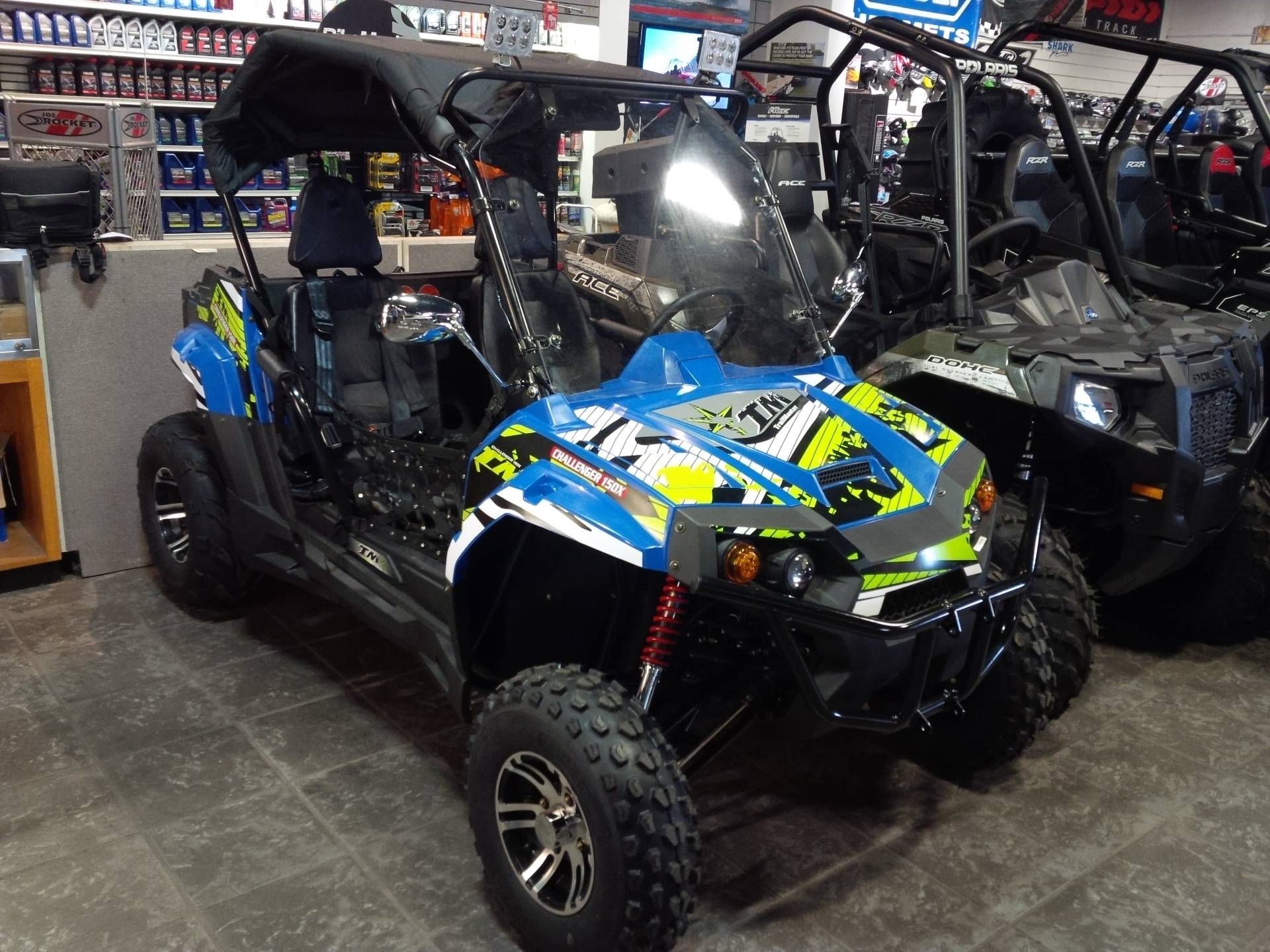 2016 Other TrailMaster Challenger 150X Deluxe Youth UTV in Salinas, California