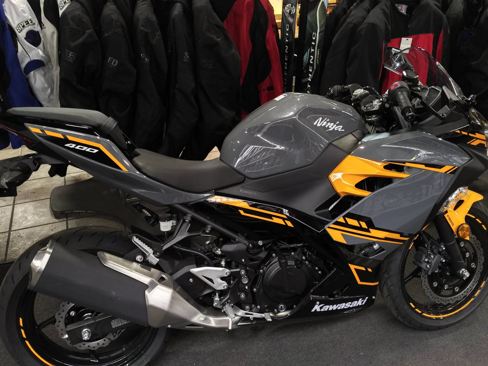 New 2018 Kawasaki Ninja 400 Abs Powersports In Salinas Ca Stock