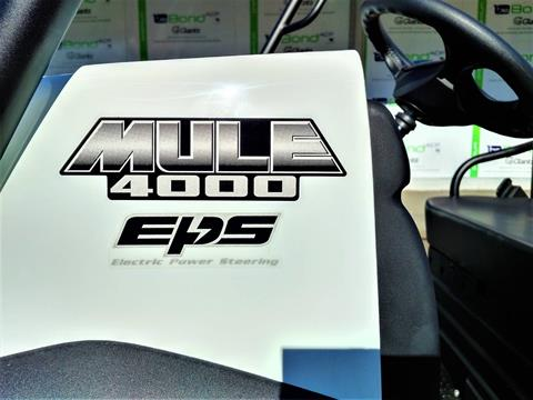 2021 Kawasaki Mule 4000 Trans in Salinas, California - Photo 12