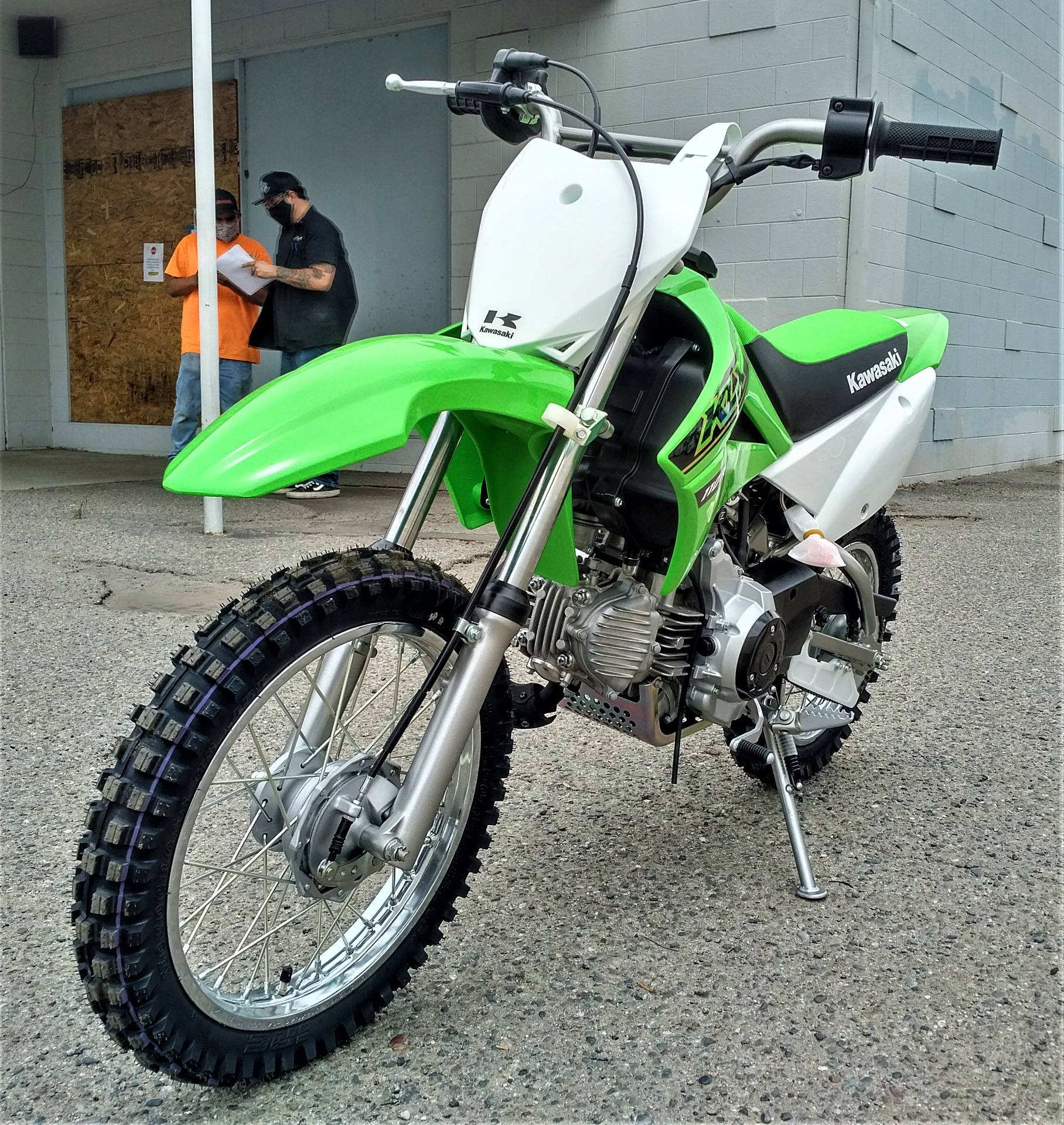 2021 Kawasaki KLX 110R in Salinas, California - Photo 6