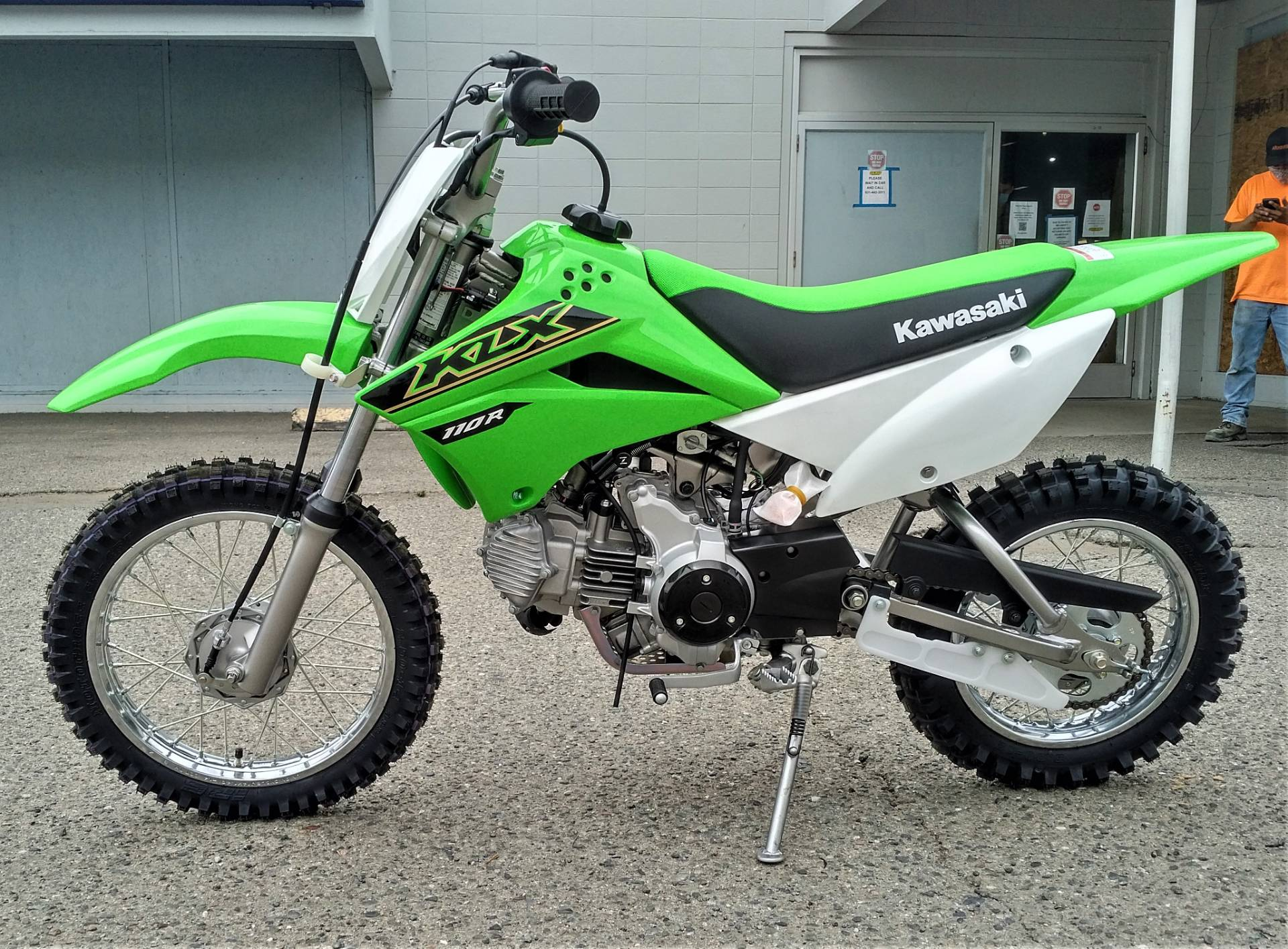 2021 Kawasaki KLX 110R in Salinas, California - Photo 3