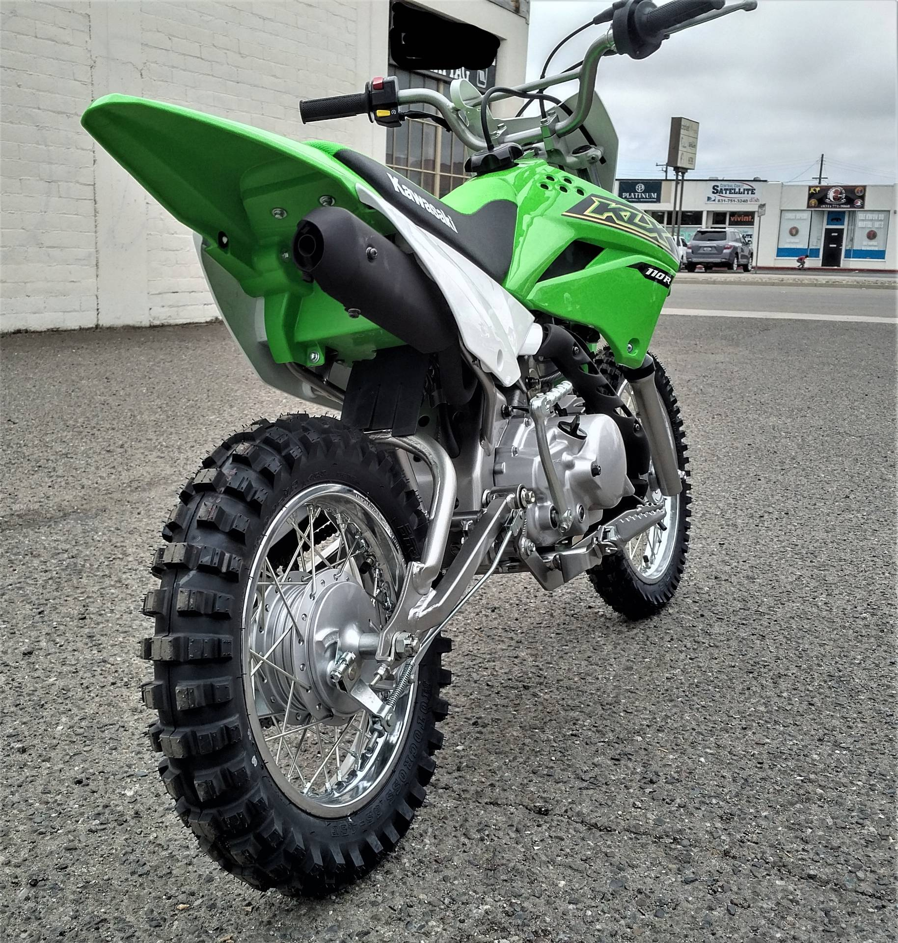 2021 Kawasaki KLX 110R in Salinas, California - Photo 9
