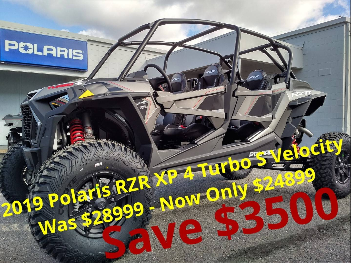 2019 Polaris RZR XP 4 Turbo S Velocity in Salinas, California